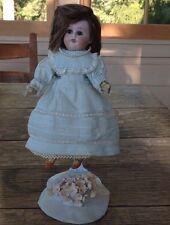 Rare Herm Steiner Bisque Swivel Head Papier-Machie 8-inch Doll All Original Body