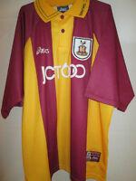 Bradford 1999-2001 Home Football Shirt Size Extra Large BNWT /21599