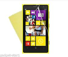 3x HQ CRYSTAL CLEAR SCREEN PROTECTOR COVER LCD FILM GUARD FOR NOKIA LUMIA 1020