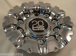 TIS Wheels Chrome Custom Wheel Center Caps # TIS-07 / TIS0720020 NEW!!