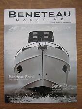 Beneteau magazine n° 10 Sense 46 Swift Trawler 50 Barracuda 7