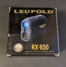 Leupold RX-650 Digital Rangefinder