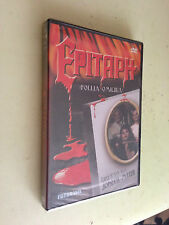 film in dvd epitaph follia omicida blisterato