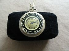 Vintage Mechanical Wind Up Swiss Made Lucerne Necklace Pendant Watch