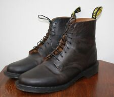 Mens Dr. Martens Eldritch Boots, Dark Brown, 8 Hole, Size UK 11