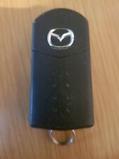 MAZDA 3 BUTTON REMOTE CAR KEY FOB IN WORKING ORDER. VISTEON 41784 REF 381/2