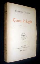 Come le foglie : commedia in quattro atti / Giuseppe Giacosa
