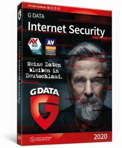 G Data Internet Security 2021 3 PC 1 Jahr GDATA TOP!!!