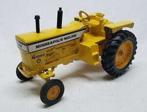 Vintage Ertl Minneapolis Moline G1000 Tractor - Repaint - 1/16 Scale