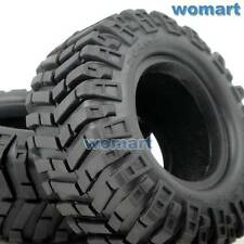 "2pcs Prowler XS 1.9"" Rock Crawler Tires 95mm Fit RC 1.9 Beadlock Rims wheels"