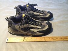 COLUMBIA BOORAD BL3132-092 Women's Leather Outdoor Hiking Trail Shoes US 10 Gray