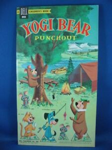 YOGI BEAR PUNCH OUT BOOK FILE COPY COMPLETE SCARCE 1959