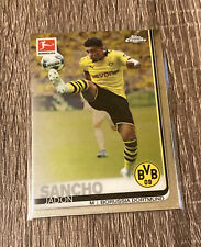 2020 Topps Chrome Bundesliga Jadon Sancho Base QTY