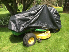 "Riding Mower Cover Heavy Duty Flannel Lined Lead Free Vinyl 60"" Long"