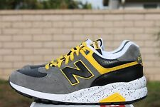 NEW BALANCE 572 SZ 8.5 ELITE EDITION MRT572GY HALLOWEEN PACK GREY YELLOW BLACK