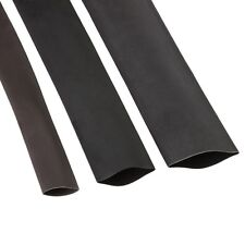 1m Heat Shrink Tube M Adhesive Lined Black 4,5/1,5mm 3:1, With Adhesive Hot Glue