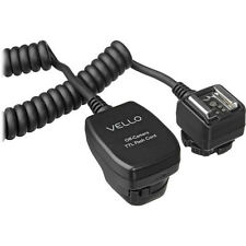 Vello TTL-Off-Camera Flash Cord for Canon EOS - 3' (1 m)
