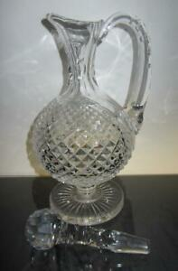 Iconic Waterford Crystal Master Cutter Heritage Collection Claret Decanter (1st)