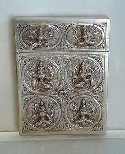 Silver Siam  Antique Calling Card or Match Stick Case