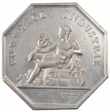 [#57880] France, Chamber of Commerce, Token, Au(55-58), Silver, 20.41