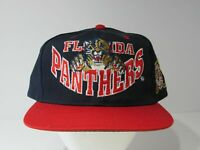 Rare Vintage NHL Florida Panthers Snapback Multi Colored Hat Deadstock Cap NWOT