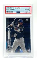 Luis Robert 2020 Topps Chrome Rookie #60 RC PSA 10 Gem Mint Chicago White Sox