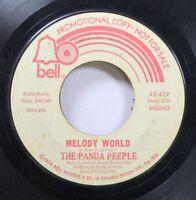Rock Promo 45 The Panda Peeple - Melody World / Ballin' The Jack On Bell