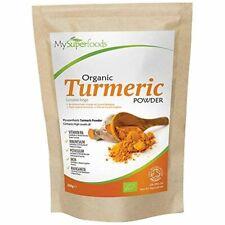 Poudre de Curcuma Bio 200g, MySuperFoods Concentration élevée en vitamine C