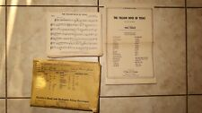 """Vintage """"The Yellow Rose of Texas� Sheet Music by Don George Arr. by Paul Yoder"""