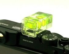 Two Hot Shoe Double Dual Axis Bubble Spirit Level For Nikon Canon Sony & Others