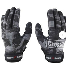 Reebok Competition Gloves Crossfit Black Goat Leather Medium Brand New