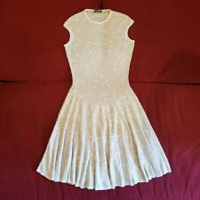 Alexander McQueen Fit and Flare Knit Dress Size M