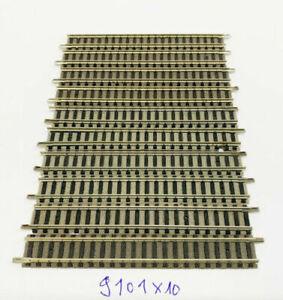 9101 Straight Track 111 MM 10 Piece Fleischmann N Gauge Top
