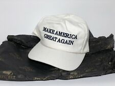 More details for official trump maga make america great again hat white authentic