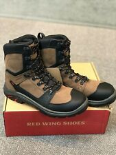"""RED WING  # 4450 TRADESMAN 8"""" COMPOSITE SAFETY TOE WORK BOOT   size 10.5 D"""