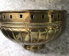 Brass Sconce Wall Shelf Vintage
