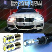 H6W Lamps DRL Sidelight LED CREE Bulbs Set Kit 2pcs Xenon Canbus BAX9S