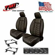 TMI Pro Series Sport XR Lowback Bucket Seats for 2015 - 2018 Mustang, Made in US