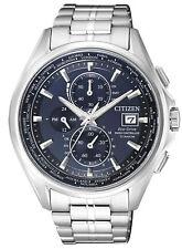 Citizen Eco-Drive Analog Chronograph Quarz Solar Funk Herren-Uhr AT8130-56L