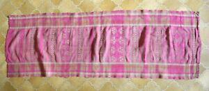 Laos TRADITIONAL Hilltribe  Thai Antique TRIBAL Textile 100cm x 30cm