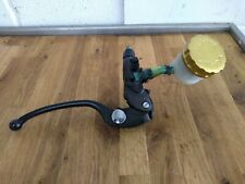 Kawasaki ZX6R 636 ZX6RR Nissin Front Brake Master Cylinder Lever and Reservoir