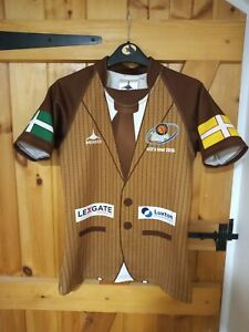 """EXETER CHIEFS YOUTH RUGBY UNION SHIRT BY MAKO SIZE L/BOYS 32/34"""" - NEW"""