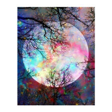 Night Sky 5D Diamond Painting Embroidery Rhinestone Pictures Home Wall Decor