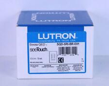 Lutron HomeWorks SQD-5RI-BR-E01 (Brown) Keypad