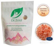 1KG COARSE Pink Himalayan Salt 100% Natural Unrefined Pure Food Grade