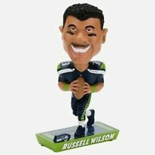 Russell Wilson Seattle Seahawks Caricature Bobblehead Forever Collectibles NFL