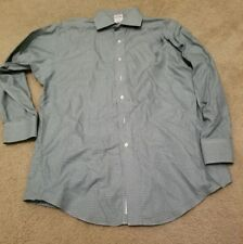 Brooks Brothers Blue Men's Long Sleeve Button Down Dress Shirt slim fit 16.5-2/3