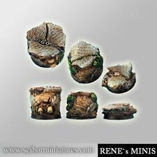 Scribor Miniatures: Temple of Time Ruins 25mm Bases #2 - SMM-BRTT0069