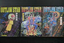 JAPAN Takehiko Ito manga LOT: Outlaw Star vol.1~3 Complete Set