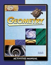 Bob Jones Geometry Student Activities Manual - 3rd Ed - BJU #217604